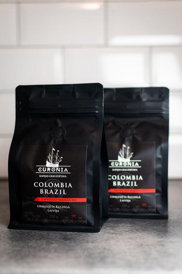 Kolumbija & Brazīlija Espresso maisījums